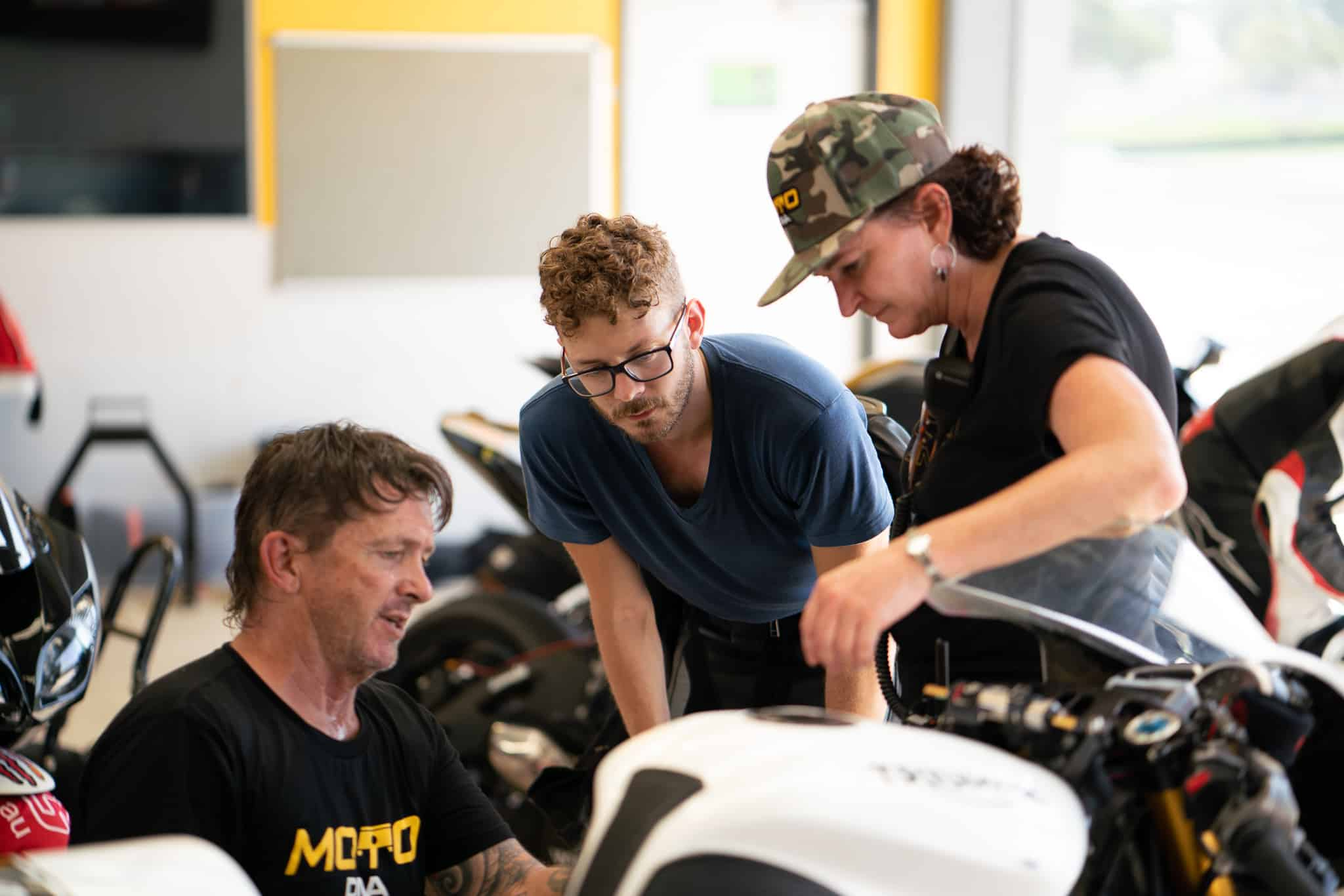 BSB Star Josh Waters Coaching motoDNA at Sydney Motorsport Park